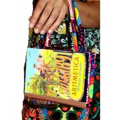 Bolso Libro de Aritmetica  32.25€ Shoulder Bag, Bags, Fashion, Book, Handbags, Moda, Fashion Styles, Shoulder Bags, Fashion Illustrations