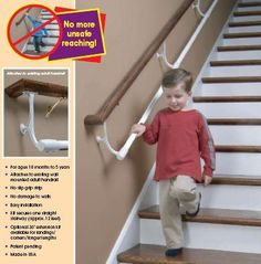 Best Stair Toddler Safety So Clever Interesting To Add Rope 400 x 300