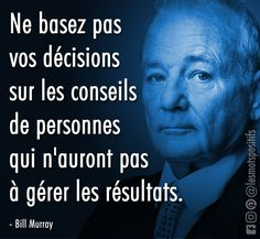 Make the Right Decisions: Listen to Your Instincts Before Others' Advice - Trend Relationship Quotes 2019 Positive Mind, Positive Attitude, Positive Quotes, Positive Motivation, Bill Murray, Psychology Love, Personality Psychology, Psychology Careers, Relationship Quotes