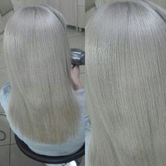 #greyhair Grey Hair, Long Hair Styles, Beauty, Ash Grey Hair, Going Gray, Long Hair Hairdos, Cosmetology, Long Hairstyles, Long Haircuts