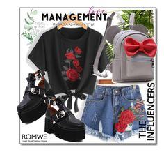 """Mix and Match with Romwe"" by danijela-3 ❤ liked on Polyvore"