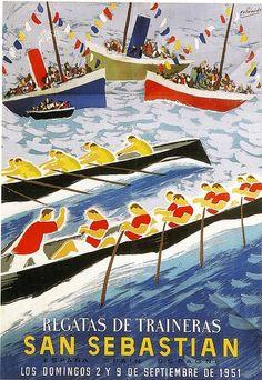 Vintage Advertising Posters, Vintage Travel Posters, Vintage Advertisements, Vintage Ads, Poster Vintage, Beach Posters, Cool Posters, Spanish Posters, Tourism Poster
