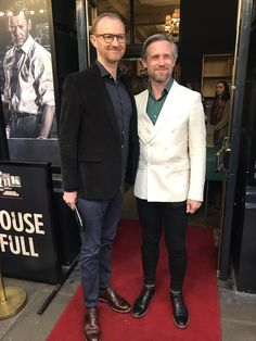 """Ink The Play on Twitter: """"Papped on the red carpet: @Markgatiss and @IanHallard #InkThePlay https://t.co/NBMTiuzi4Q"""""""