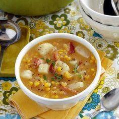 Corn  Bacon Chowder Recipes