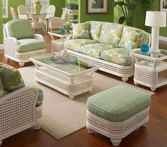 pinterest beach rooms white wicker furniture | furniture rattan room wicker living room furniture excellent starting ...