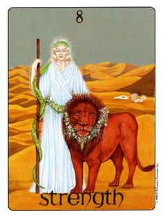 December 14 Tarot Card: Strength (Gill deck) Today, more than ever, find strength in your heart, your soul, and in your connections with others. It is a day to shine the light of love, even through the darkness of tragedy.