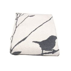 Birdy Blanket- Aluminum by in2green - Spark Living - online boutique for unique home decor, gifts and accessories