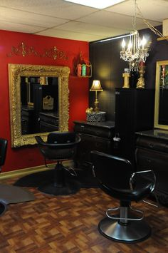Vintage hair salon the vintage salon birmingham hair - Decoration salon style romantique ...