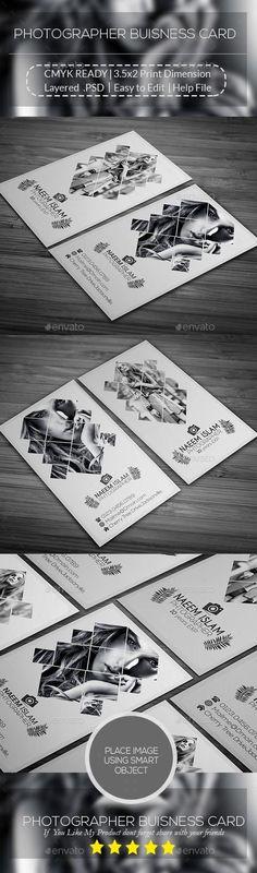 Photographer Buisness Card