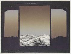 """Predel 31"", Bogdan Cobal, Aquatinta-Radierunge, 1980/81, 49,2 x 64,5 cm"