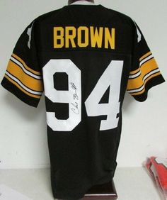 Chad Brown Pittsburgh Steelers Signed/Autographed Jersey JSA PSA Pass 121069 . $129.00. Chad Brown Pittsburgh Steelers Signed/Autographed Jersey JSA PSA Pass 121069