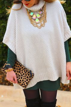 The Sweater Poncho | What Would Jen Wear
