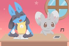 Lucario and Riolu temple: Photo Pokemon Fan Art, Pokemon Gif, Pokemon Team, Pokemon Stuff, Manga Anime, Anime Fnaf, Original Pokemon, Lucario Pokemon, Pikachu