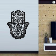 Hamsa Wall decal art decor decals sticker by DecorWallDecals, $28.99