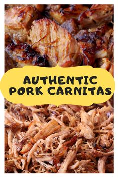 Pork Carnitas Recipe that is totally real and cooks gradually in a stewing pot, on the stove, or in your moderate cooker before you place it into the broiler to wind up fresh and caramelized. Slow Cooked Pulled Pork, Pulled Pork Recipes, Mexican Pulled Pork, Pulled Pork Loin, Mexican Pork Stew, Pork Stew Meat, Pulled Pork Tacos, Recipes With Pork Roast, Mexican Pork Dishes