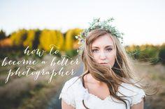 How To Become a Better Photographer | Kylee Ann Photography | Logan Utah Wedding Photographer