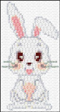 Cross Stitch | Rabbit xstitch Chart | Design