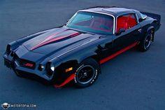 1977 Chevy Camaro z28.