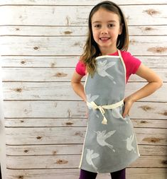Kids Apron, Aprons, My Etsy Shop, Trending Outfits, Children, Gifts, Clothes, Shopping, Fashion