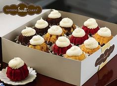 Nothing Bundt Cakes Bundtinis. Seriously the best cake in the world! I went here and almost died of happiness. Mini Tortillas, Food Cakes, Cupcake Cakes, Cupcakes, Nothing Bundt Cakes, Chocolate Bundt Cake, Praline Chocolate, Pecan Pralines, Bunt Cakes