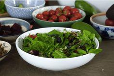 Ayşe Tolga'dan: Tam Tahıllı Salata Tarifi Seaweed Salad, Raw Food Recipes, Spinach, Vegetables, Ethnic Recipes, Raw Recipes, Vegetable Recipes