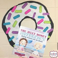 The Elementary Darling: Spreading Kindness with the Jelly Donut Difference Classroom Community, Elementary School Counseling, School Social Work, School Counselor, Elementary Schools, Elementary Guidance Lessons, Character Education Lessons, Social Skills, Social Emotional Learning