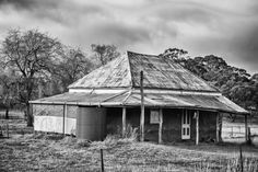 Old house at Wattle Flats.