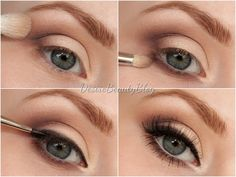 Dreamy eyes makeup tutorial