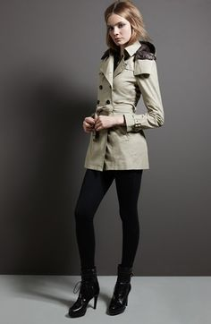Burberry Brit 'Reymoore' Trench Coat with Detachable Hood & Liner | Nordstrom