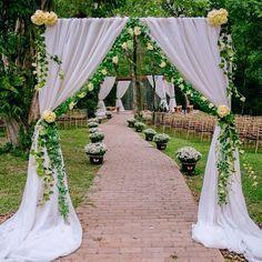 Um casamento encantado. Muitos detalhes e muito carinho em cada…