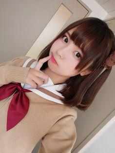 Pin by Rip Hunter on ۞ Liyu - Ristuki - 黎狱 ۞ Coser School Girl Japan, Japan Girl, Cute Asian Girls, Beautiful Asian Girls, Cute Girls, Cool Girl, Japanese Model, Cute Japanese Girl, Japanese School Uniform
