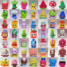 Shopkins Loose Single Figure Season 1 Choose 1 001 Through 1 049 Ultra RARE | eBay