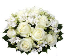 Vit, Floral Wreath, Wreaths, Weddings, Flowers, Home Decor, Floral Crown, Decoration Home, Door Wreaths