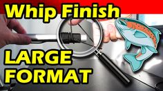 This video offers a demonstration on how to whip-finish a fly by hand. Larger format materials are used to give a better perspective on what takes place when...
