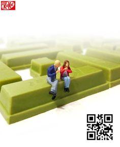 Try reading the QR code!/KitKat(ネスレ日本)