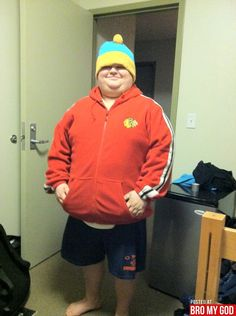 South Park's Eric Cartman in real life lol