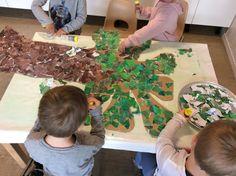 Myrertoppen barnehage: Hakkebakkeskogen, et tverrfaglig prosjekterende arbeid