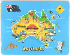 kids map oceania google zoeken