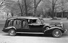 1937 Buick carved side hearse