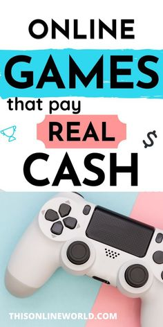 If you like playing video games, you can start a new side hustle by using apps that pay you for playing games. Way To Make Money, Make Money Online, Apps That Pay You, Games To Play, Playing Games, Passive Income Streams, Wealth Creation, Online Work, Money Management