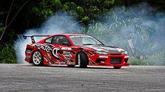 cars drifting cars Nissan Silvia Nissan S15 drifting