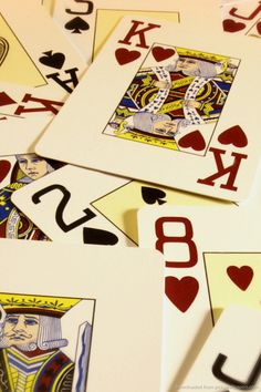 Download Poker Cards Wallpaper For iPhone 4