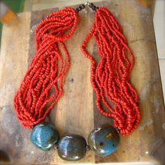 Boho Necklace by Kataris from La Tienda Fair Trade