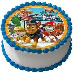 Paw Patrol Tårtbild E - Partyhallen. 2nd Birthday Cake Boy, Paw Patrol Birthday Cake, Birthday Party Tables, Paw Patrol Torte, Paw Patrol Cupcakes, Buttercream Decorating, Cake Decorating, Foto Pastel, Homemade Carrot Cake