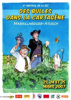 5e Festival De La BD - Des Bulles Dans La Cartagene 2007 - W.B.