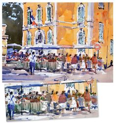 Master watercolourist Grahame Boothe reveals how to simplify your paintings