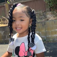 Bai (bae)✨ (@bbybailei) • Instagram photos and videos Mixed Baby Hairstyles, Cute Toddler Hairstyles, Girls Natural Hairstyles, Natural Hairstyles For Kids, Cute Mixed Babies, Cute Black Babies, Beautiful Black Babies, Mix Baby Girl, Black Baby Girls