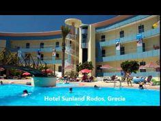 Hotel Sunland, Statiunea Ialysso, Insula Rodos, Grecia Creta, Aqua, Hotels, Beach Club, Nars, Mansions, House Styles, Outdoor Decor, Water
