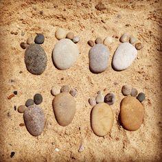 pebble feet :: van buren state park, michigan. posted by: www.hotelnichols.com Hotel Nichols South Haven, Michigan