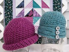 Mr. Micawber's Recipe for Happiness: Two Roads Hat Free Crochet Pattern & Tutorial ~ Version One
